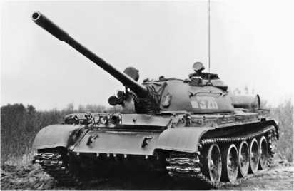 Средний танк Т-55А.
