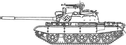 Т-55А (модернизированный).