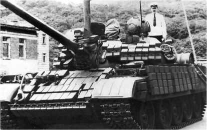 Средний танк Т-55АМВ.