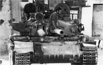 Танк «Тиран-5» одного из подразделений Армии Южного Ливана. 1982 год.
