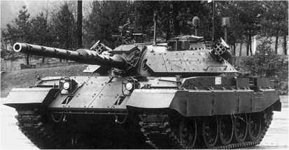 Средний танк M-55S-1 словенской армии.