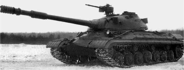 Тяжелый танк Т-10М.