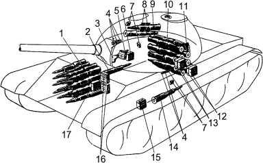Размещение боекомплекта в танке: