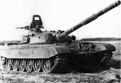 Серийный танк Т-72А. 1980 год.