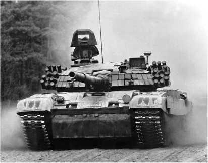 Польский основной боевой танк РТ-91.