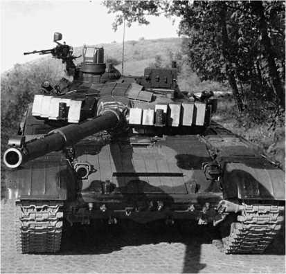 Основной боевой танк T-72CZ (Чехия).