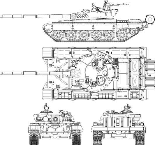 Т-72А.