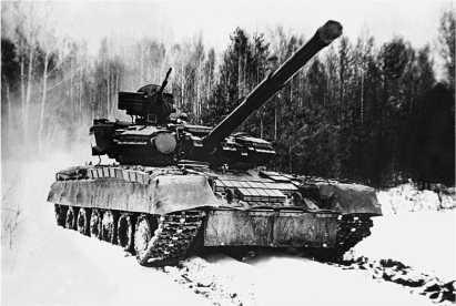 Танк Т-80УД ранних выпусков.