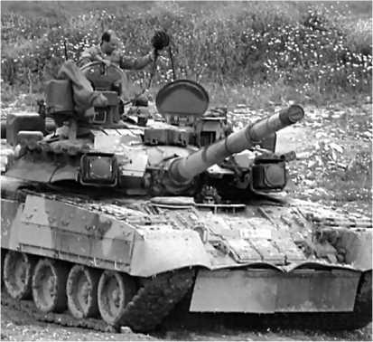 Танк Т-80У армии Республики Кипр.