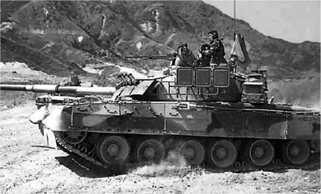 Танк Т-80У армии Республики Корея.