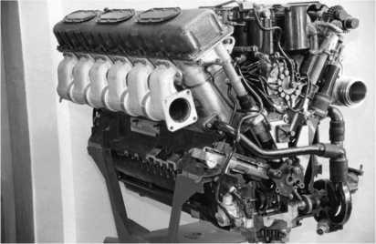 Двигатель В-84МС.
