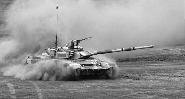 Танк Т-90CА для алжирской армии. ВТТВ-2001, Омск.
