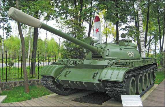 Средний танк Т-55А в экспозиции Музея техники В. Задорожного. 2010 год.