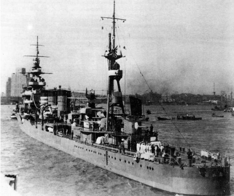 ЛКР Абукума на 1938 г.