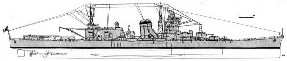 """ЛКР """"Ойодо"""" (на октябрь 1944 г.)"""