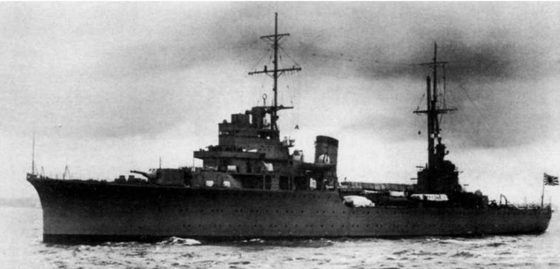 ЛКР Катори на декабрь 1941 г.