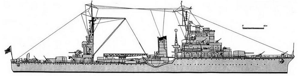 """ЛКР """"Касима"""" (на 1945 г.)"""
