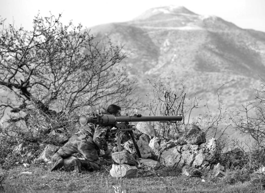 СПГ-9 «Копье» (индекс ГРАУ — 6Г6)— советский <a href='https://arsenal-info.ru/b/book/1187693005/33' target='_self'>станковый противотанковый гранатомет</a>.