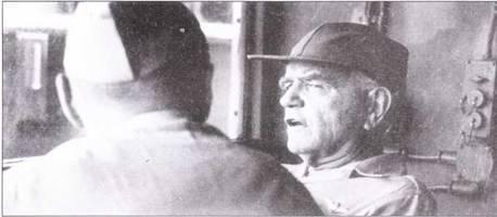 Два человека управляли действиями скоростных линкоров в сражении при заливе Лейте, когда был упущен последний шанс разгромить эскадру японских линкоров огнем корабельной артиллерии. Адмирал Уильям Ф. «Билл» Хэлси командовал с линкора «Нью Джерси» Третьим флотом и отвечал за ход операции в целом.