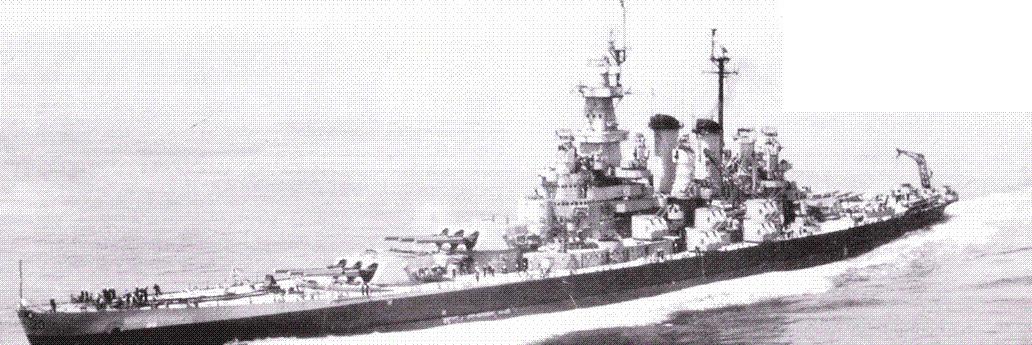 «Северная Каролина» оставались в боевом составе ВМС США в течение двух лет после окончания Второй мировой войны. Последний раз линкор ремонтировался в начале 1946г. в Нью-Йорке. Тогда с корабля сняли пару Бофорсов и все Эрл иконы. Снимок сделан 3 июня 1946г.