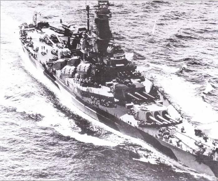 Разрушающий камуфляж Ms. 31, 32 и 33 был разработан с целью введения в заблуждение наблюдателей с надводных кораблей противника. Это — теория, на практике же разные цвета пятен разрушающего камуфляжи при наблюдении с больших дистанций сливались в один цвет. На коротких дистанциях, однако «разрушение» силуэта корабля существенно затрудняло наблюдателям определить его точные дистанцию и курс, а иногда и правильно идентифицировать.
