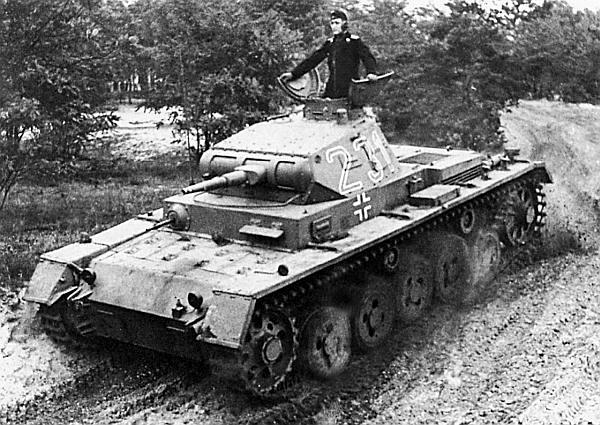 Pz.III Ausf.A на одном из полигонов. Германия, 1939 год.