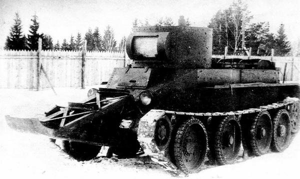 БТ-5 с «носом».