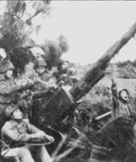 Аэродромы Кип и Йенбай прикрывало большое количество автоматических зенитных орудий М-38/39 калибра 37 мм. Эти пушки могли поражать воздушные цели на высотах до 3км, их без проблем перевозили на прицепе грузовики ЗиЛ-151 и ЗиЛ-157К.