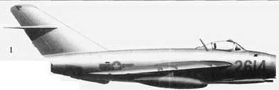 1.Shenvang J-5 (МиГ-17) «2614» из 921-го истребительного авиационного полка «Sao Duo», 1967г.