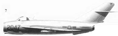 7.МиГ-ПФ «2047» Нгуена Ван Бая из 923-го истребительного авиационного полка «Yen The», 19 апреля 1972г.