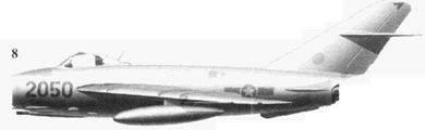 8.Shenyang J-5 (МиГ-17Ф) «2050» Фам Нгок Лана, 921-й истребительный авиационный полк «Sao Dao», 6 ноября 1965г.