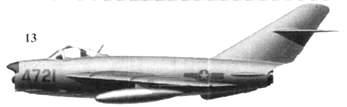 13.МиГ-17ПФ «4721» Лам Ван Лича, 921-й истребительный авиационный полк «Sao Dao», 3 февраля 1966г.