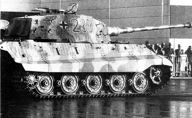«Королевский тигр» из экспозиции танкового музея в Самюре (Франция). Эта машина — на ходу!