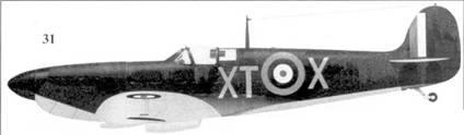 31. Mk IX 4250/XT-X сержанта Джэка Стока, 603-я эскадрилья, Бигген-Хилл, август 1940г.
