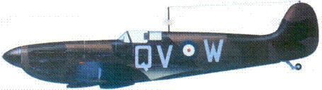 Mk I K9854/QV-W флайт-лейтенанта Вильфреда Клоустона, октябрь 1939г.