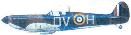 Mk IB R6776/QV-H флайт-сержанта Джорджа Анвина, август 1940г.