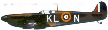 Mk I N3173/KL-N пайлот-офицера Колина Грея, май 1940г.