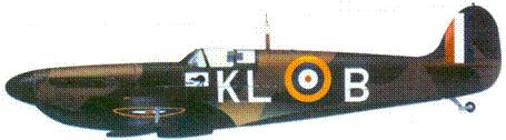 Mk I N3173/KL-B пайлот-офицера Алана Дира, май 1940г.