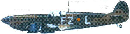 Mk 1 K9906/FZ-L. флайт-лейтенанта Роберта Така, август 1939г.