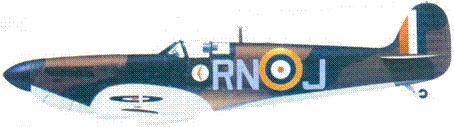 Mk I серийный номер не установлен/RN-J флайт-лейтенанта Десмонда Шина, август 1940г.