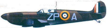 Mk I К9953/ХР-А флайт-лейтенанта Адольфа Мэлэрна, май-июнь 1940г.
