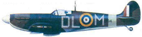 Mk IIA P8194/DL-M сержанта Дональда Маккэя, апрель 1941г.