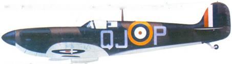 Mk I N3249/QJ-P сержант Ральфа Хэвейерофта, август 1940г.