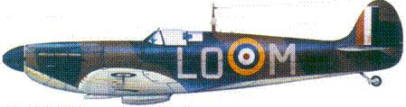 Mk I X4541/LO-M сержанта Сирила Бэббиджа, октябрь 1940г.