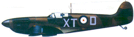 Mk I L1067/XT-D скуадрон-лидера Джорджа Динхолма, март 1940г.