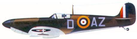 Mk I X4036/D-AZ флайт-офицера Роберта Дои, авгус! 1940г.