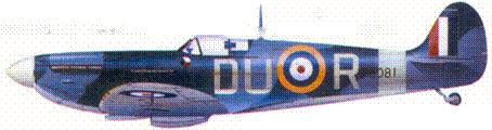 Мк II P8081/DU-R флайт-лейтенанта Адольфа Выбирэйля, ноябрь 1941г.