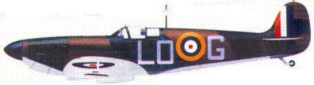 Mk II.1019/LO-G сержанта Бэзиля Уэлла, август 1940г.