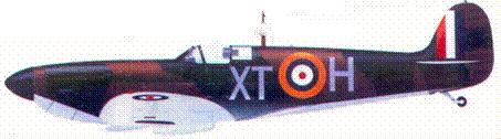 Mk I N3288/XT-H пайлот-офицера Джорджа Гирлоу, август 1940г.