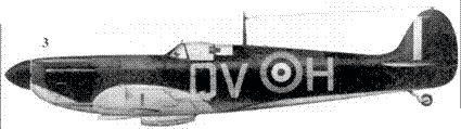 3. Mk IB R6776/QV-H флайт-сержанта Джорджа Анвина, 19-я эскадрилья, Фоулмир, август 1940г.